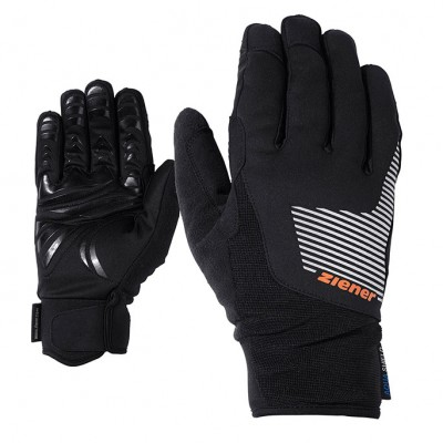 GUANTES ZIENER UPS AS CROSSCOUNTRY NEGRO