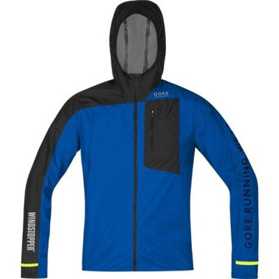 CHAQUETA GOREFUSION WINDSTOPPER ACTIVE SHELL AZUL/NEGRA