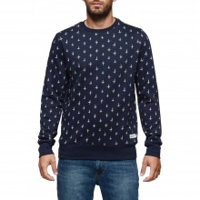 SUDADERA ELEMENT GRAYSON CREW AZUL