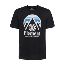 CAMISETA ELEMENT CLIFF NEGRO