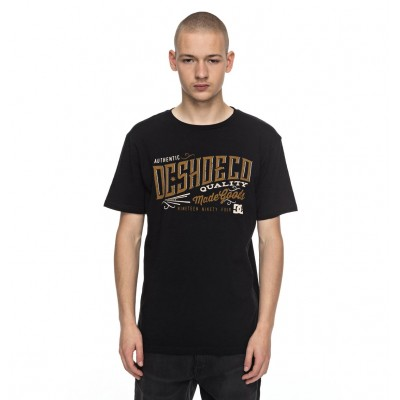 CAMISETA DC SHOES CORPORATION NEGRO