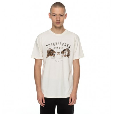 CAMISETA DC SHOES SURRENDER NEVER BLANCO