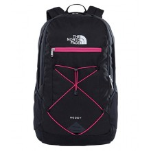 MOCHILA THE NORTH FACE RODEY NEGRO/ROSA 27L