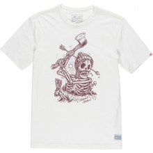 CAMISETA ELEMENT GROUNDED BLANCO