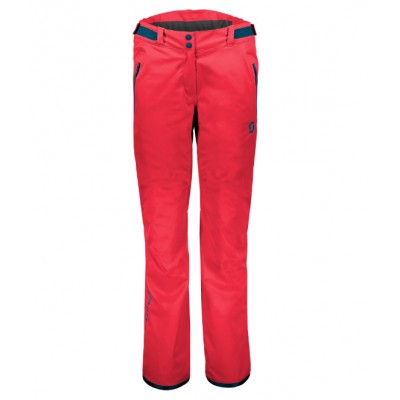 PANTALON NIEVE WS SCOTT ULTIMATE DRYO ROJO
