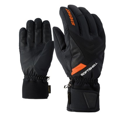 GUANTES ZIENER GOMSER BLACK ORANGE