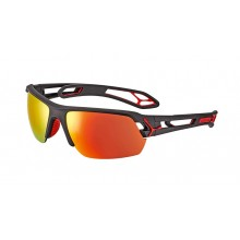 CEBE S-TRACK MEDIUM MATT NEGRO/ROJO