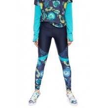 LEGGING DESIGUAL BLOCKING TROPIC