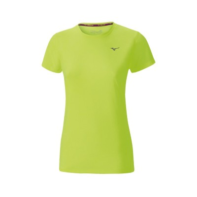 CAMISETA W MIZUNO IMPULSE CORE TEE AMARILLO