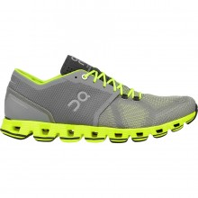 ZAPATILLAS ON RUNNING CLOUD XGREY NEON