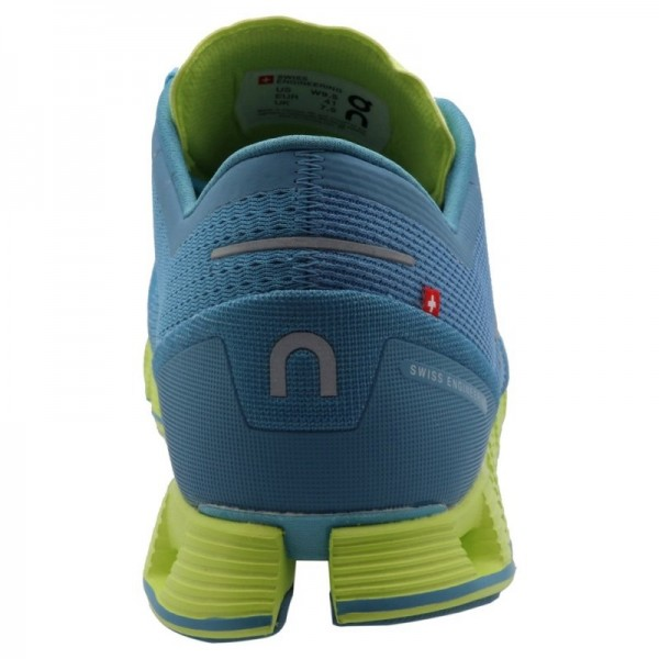 ... ZAPATILLAS ON RUNNING MUJER CLOUD X NIAGARA LIME ... 4f6ab0130d579