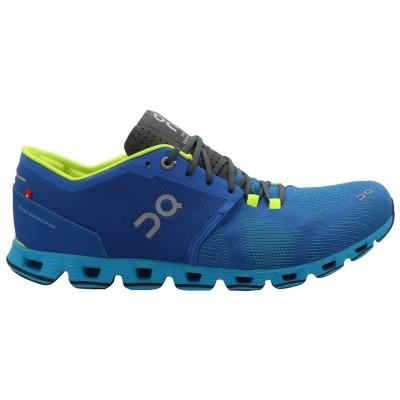 ZAPATILLAS ON RUNNING CLOUD X WATER BLUES