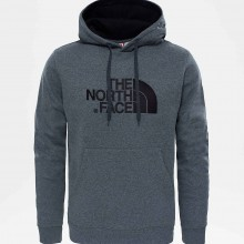 SUDADERA THE NORTH FACE DREW PEAK PUL GRIS
