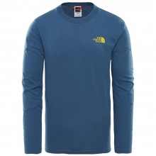CAMISETA THE NORTH FACE EASY L/S BLUE