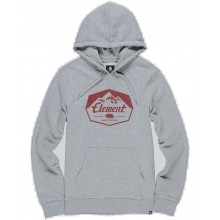 SUDADERA ELEMENT JOURNEY GRIS