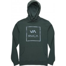 SUDADERA RVCA VA AL THE WAY VERDE