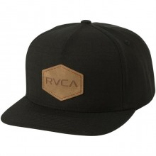 GORRA RVCA COMMONWEAL TH DELUXE NEGRO