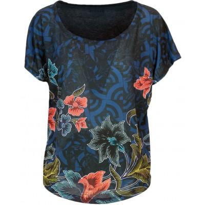 En Comprar Oversize Nothingsurf Azul Geopatch Camiseta Desigual n6vBpp