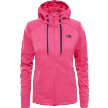 SUDADERA W THE NORTH FACE TECH MEZZALUNA ROSA