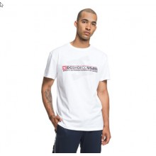 CAMISETA DC SHOES DESTROY ADVERTS BLANCO