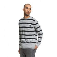 JERSEY DC SHOES SABOTAGE STRIPE GRIS