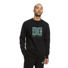 SUDADERA DC SHOES GLENRIDGE CREW NEGRO