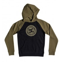 SUDADERA NIÑO DC SHOES CIRCLE STAR PH VERDE