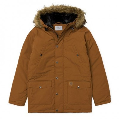 CARHARTT TRAPPER PARKA BROWN