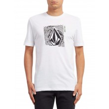 CAMISETA VOLCOM STONAR WAVES DD BLANCO