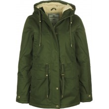 PARKA MUJER ELEMENT MISTY TWILL VERDE