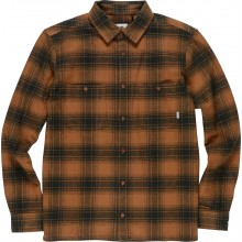 CAMISA ELEMENT MILLER LS MARRON