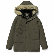 PARKA MUJER CARHARTT ANCHORAGE CYPRESS/BLACK