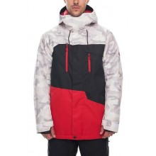 CHAQUETA NIEVE 686 GEO INSULATION WHITE CAMO