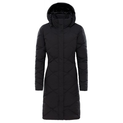 PARKA W THE NORTH FACE MISS METRO II NEGRO
