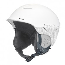 CASCO BOLLE SYNERGY MATTE WHITE BLACK FOREST