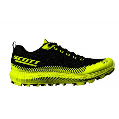 ZAPATILLA SCOTT SUPERTRACK ULTRA RC BLACK/YELLOW