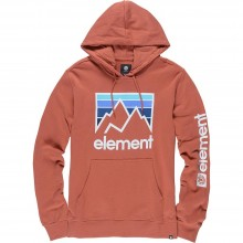 SUDADERA ELEMENT JOINT HO ROJO