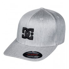 GORRA DC SHOES CAP STAR TX GRIS