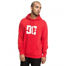 SUDADERA DC SHOES STAR PH ROJO