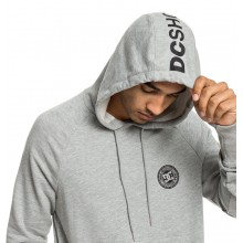 SUDADERA DC SHOES BELHAM PH GRIS