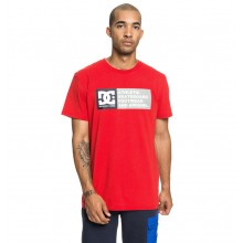 CAMISETA DC SHOES VERTICAL ZONE ROJO