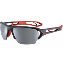 GAFAS CEBE S-TRACK LARGE MATT BLACK/ RED