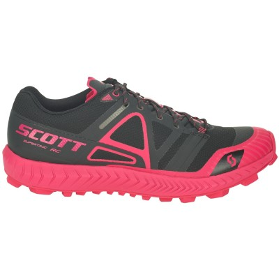 ZAPATILLA SCOTT WS SUPERTRACK RC NEGRO/ROSA