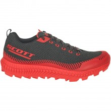 ZAPATILLA SCOTT SUPERTRAC ULTRA RC NEGRO/ROJO