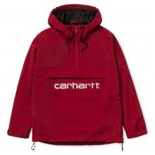 CANGURO CARHARTT SCRIPT MUJER CARDINAL/WHITE