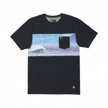 CAMISETA HIPPYTREE PACIFIC NEGRO
