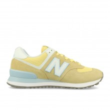 ZAPATILLAS NEW BALANCE W WL574ESG AMARILLO