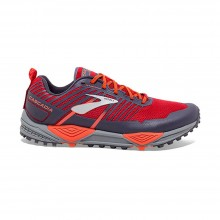 ZAPATILLAS BROOKS CASCADIA 13 RED/ORANGE/GREY