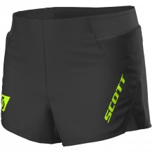 PANTALÓN CORTO SCOTT SPLIT MS RC RUN NEGRO