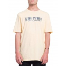 CAMISETA VOLCOM CHOPPED EDGE NARANJA